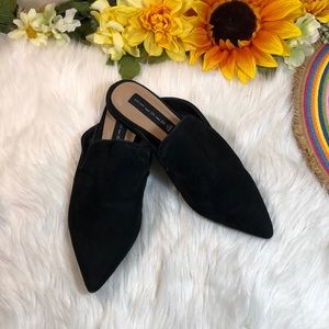Steve Madden Velma Suede Pointed Toe Mules 8.5